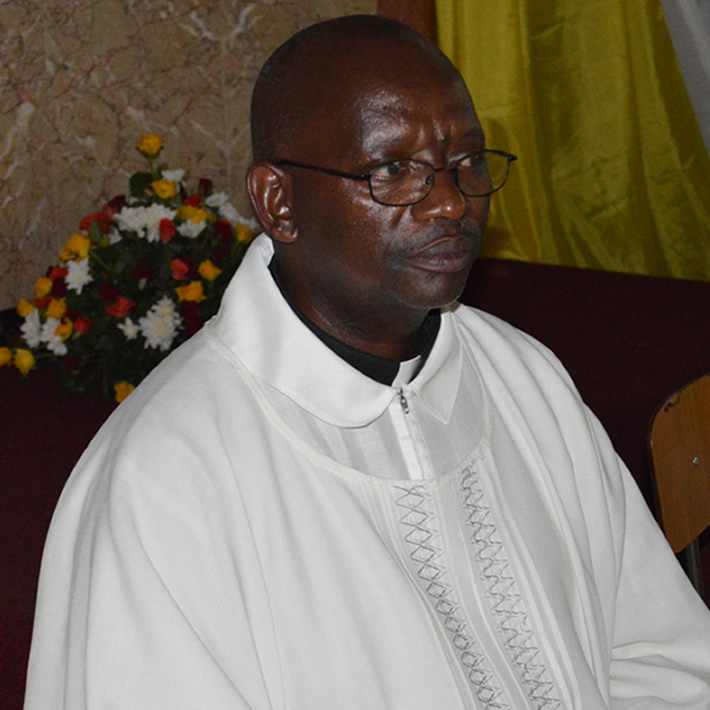 Rev. Fr. Paulino Twesigye Mondo - Assistant Parish Priest